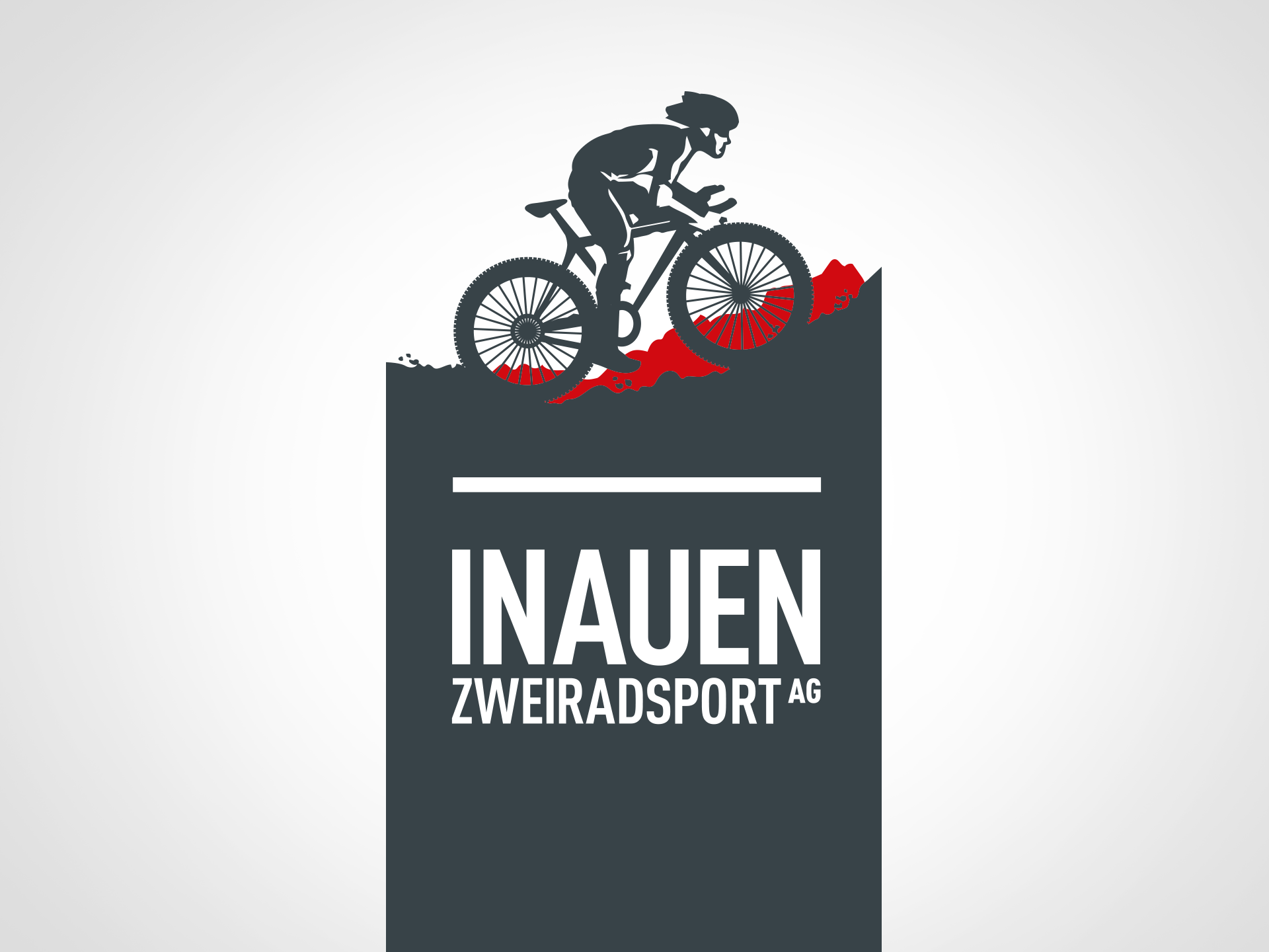 SM Graphic Design Illustration Logo Corporate Identity Design Inauen Zweiratsport Bikeshop Motorräder Velo Fahrrad