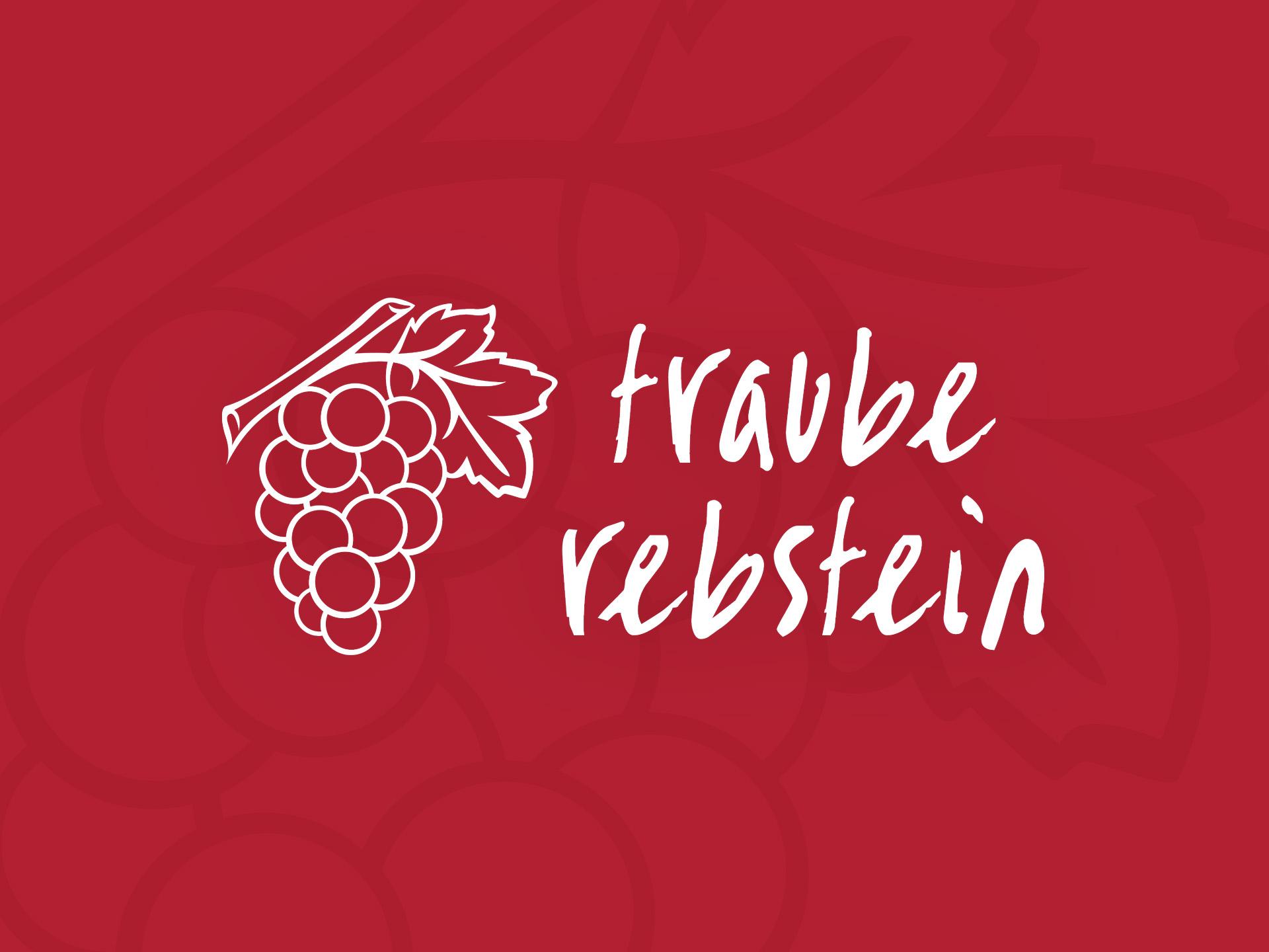 SM Graphic Design Referenzen Logo Website Beschriftung Visitenkarten Flyer Restaurant Traube Rebstein – gut essen