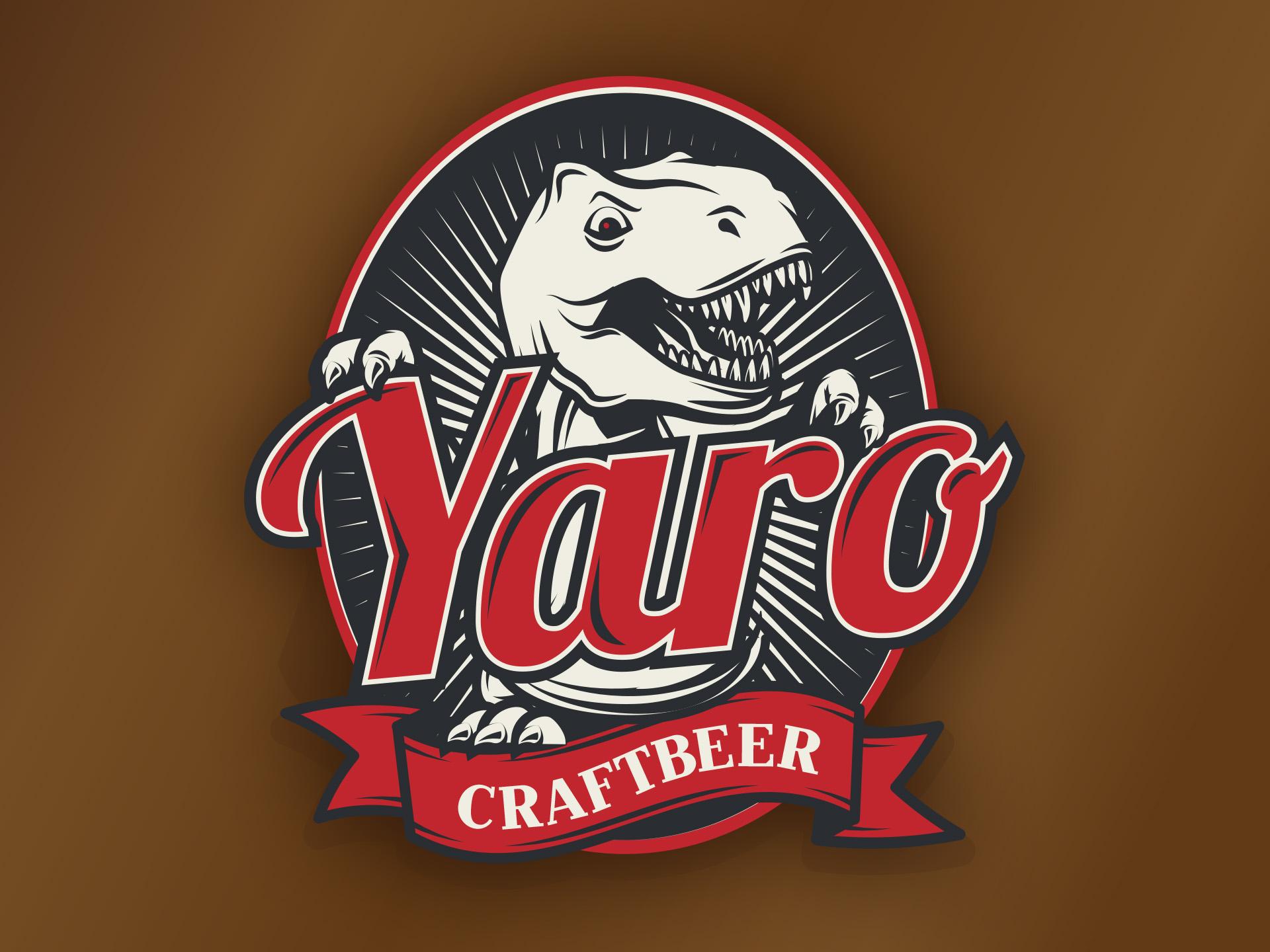 SM Graphic Design Referenzen Beschriftung Packaging Design Bier Etikette Yaro Bier Stadtbühler Brauerei Gossau Illustration Zeichnung